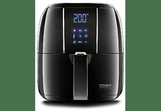 Freidora de aire caliente - CASO AF 200, 2.5L, 6 Programas, Acero inoxidable