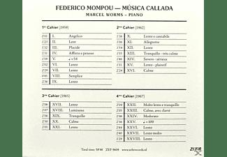 Federico Mompou - Musica Callada  - (CD)