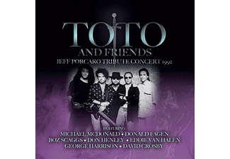 Toto And Friends - Jeff Porcaro Tribute Concert 1992  - (CD)