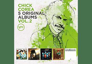 Chick Corea - 5 Original Albums Vol.2  - (CD)