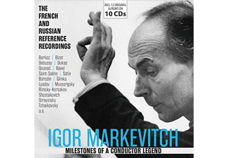 Igor Markevitch - Milestones Of A Conductor Legend  - (CD)