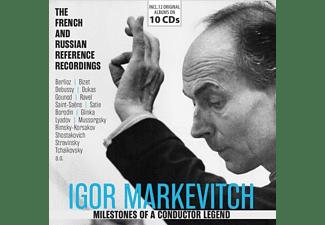 Igor Markevitch - MILESTONES OF A CONDUCTOR LEGEND: IGOR MARKEVITCH  - (CD)
