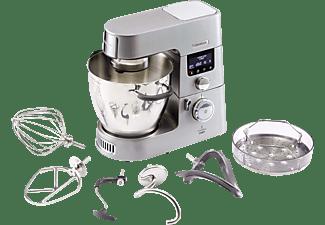 KENWOOD KCC9040S Cooking Chef Gourmet Küchenmaschine mit Kochfunktion inkl. 7 Zubehörteile Silber (Rührschüsselkapazität: 6,7 Liter, 1500 Watt)
