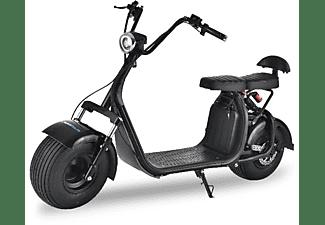 Ciclomotor Eléctrico Rollergo Skateflash Gta18 1000w 40km Autonomía Negro