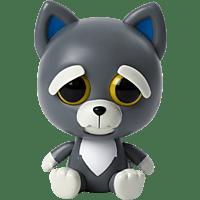GOLIATH Feisty Pets - Grey Dog 10cm Plüschtier, Mehrfarbig
