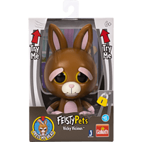GOLIATH Feisty Pets - Bunny 10cm Plüschtier, Mehrfarbig