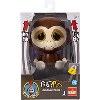 GOLIATH Feisty Pets - Monkey 10cm Plüschtier, Mehrfarbig