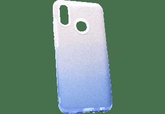 AGM 28507, Backcover, Huawei, P Smart (2019), Blau/Silber
