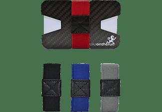 MAKAKAONTHERUN Carbon Original Slim Wallet Carbonschwarz