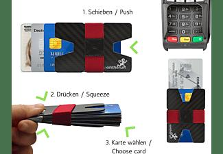 MAKAKAONTHERUN Carbon Premium Slim Wallet Carbonschwarz