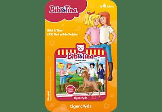 TIGERMEDIA Tigercard - Bibi & Tina - Das wilde Fohlen Tigercard, Mehrfarbig