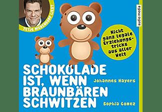 Schokolade ist, wenn Braunbären schwitzen  - (CD)