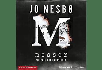 Uve Teschner - Jo Nesbo: Messer  - (MP3-CD)