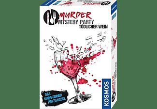 KOSMOS Murder Mystery Party - Tödlicher Wein Spiel