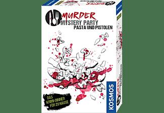 KOSMOS Murder Mystery Party - Pasta und Pistolen Spiel