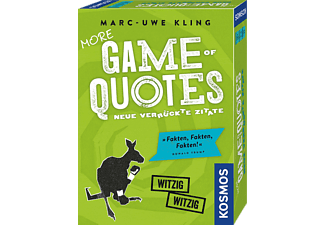 KOSMOS More Game of Quotes Kartenspiel