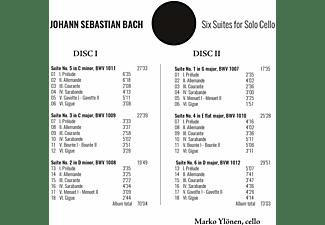 Marko Ylönen - Sechs Suiten für Violoncello solo  - (CD)