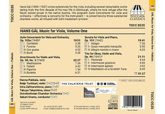 Pakkala, Oramo, Ostrobothnian Chamber Orchestra - Musik für Viola,Vol.1  - (CD)