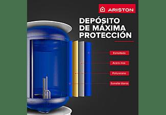 Termo eléctrico - Ariston Lydos R 50 V ES EU, 1500W, 50 L, Protección de titanio Anticorrosión y Antical