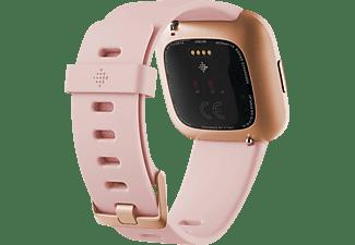 FITBIT Smartwatch Versa 2 NFC Aluminium, Gr. S&L, creme/kupferrose