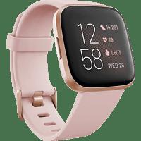 FITBIT  FB507RGPK Versa 2 (NFC) Smartwatch Aluminium, Silikon, S,L, Petal/Copper Rose