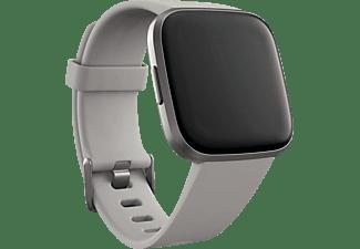 FITBIT FB507GYSR Versa 2 (NFC) Smartwatch Aluminium Silikon, S,L, Stone/Mist Grey