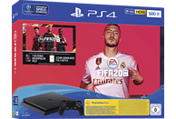 SONY Playstation 4 500GB Jet Black: EA Sports Fifa 20-Bundle