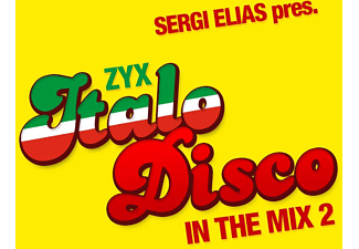 VARIOUS - ZYX Italo Disco In The Mix 2  - (CD)