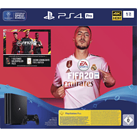SONY PS4 PRO 1TB Jet Black: EA Sports Fifa 20-Bundle