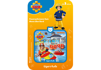 TIGERMEDIA Tigercard - Feuerwehrmann Sam - Mann über Bord Tigercard, Mehrfarbig