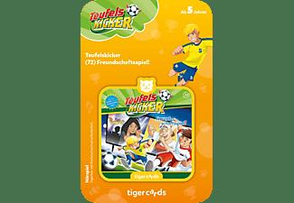 TIGERMEDIA Tigercard - Teufelskicker - Freundschaftsspiel Tigercard, Mehrfarbig