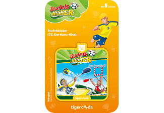 TIGERMEDIA Tigercard - Teufelskicker - Der Kanu-Kick Tigercard, Mehrfarbig