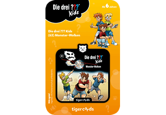 TIGERMEDIA Tigercard - ??? Kids - Monsterwolken Tigercard, Mehrfarbig