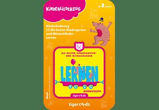 TIGERMEDIA Tigercard - Kinderliederzug 2 Lernen Tigercard, Mehrfarbig