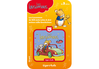 TIGERMEDIA Tigercard - Leo Lausemaus - Will nicht teilen und 3 weitere süße Geschichten Tigercard, Mehrfarbig