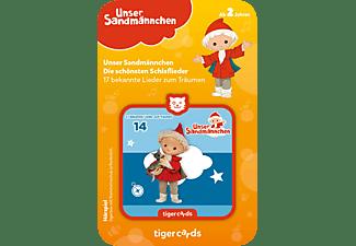 TIGERMEDIA Tigercard - Unser Sandmännchen - Schlaflieder Tigercard, Mehrfarbig