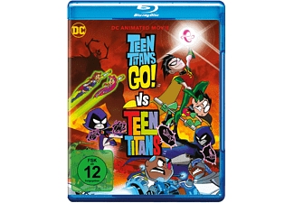 Teen Titans Go! vs. Teen Titans Blu-ray