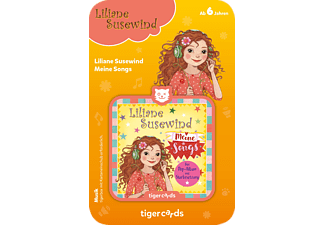 TIGERMEDIA Tigercard - Liliane Susewind - Meine Songs Tigercard, Mehrfarbig