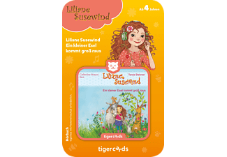 TIGERMEDIA Tigercard - Liliane Susewind - Ein kleiner Esel kommt groß raus Tigercard, Mehrfarbig