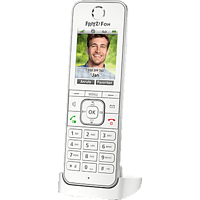 AVM FRITZ!Fon C6 Schnurloses Telefon, Weiß