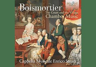 Cappella Musicale Enrico Stuart - BOISMORTIER: THE COURT AND THE VILLAGE, CHAMBER MU  - (CD)