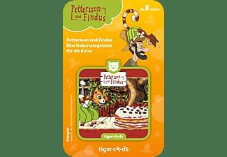 TIGERMEDIA Tigercard - Pettersson und Findus - Eine Geburtstagstorte für die Katze Tigercard, Mehrfarbig