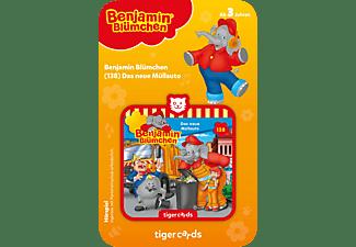 TIGERMEDIA Tigercard - Benjamin Blümchen - Das neue Müllauto Tigercard, Mehrfarbig