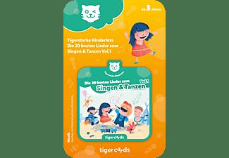 TIGERMEDIA Tigercard - Tigerstarke Kinderhits - Die 20 besten Lieder zum Singen & Tanzen Vol.1 Tigercard, Mehrfarbig