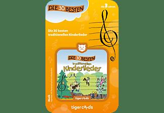 TIGERMEDIA Tigercard - Die 30 besten traditionellen Kinderlieder Tigercard, Mehrfarbig