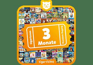 TIGERMEDIA Tigerticket - 3 Monate Tigerticket, Mehrfarbig