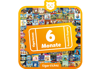 TIGERMEDIA Tigerticket - 6 Monate Tigerticket, Mehrfarbig