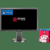 BENQ ZOWIE RL2455TS + PS4 FIFA 20 Bundle, 24 Zoll Full-HD Gaming Monitor (1 ms Reaktionszeit, 76 Hz)
