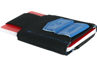 MAKAKAONTHERUN PT-BlueVegan Slim Wallet Blau/Schwarz