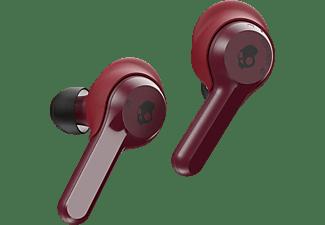 SKULLCANDY Indy, In-ear Kopfhörer Bluetooth Rot/Schwarz